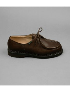 Paraboot Michael Brown Grain Leather Shoe by Drake's