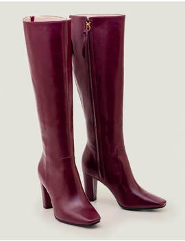 Waveney Knee High Boots   Ruby Ring by Boden
