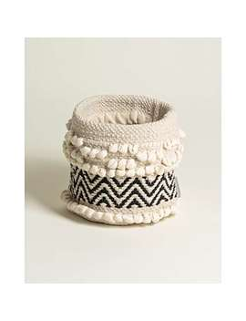 Korzina Woven Plant Pot Cover Medium by Olivar Bonas