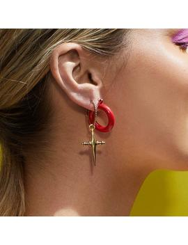Rainbow Baby Amalfi Hoops  Red by Luv Aj