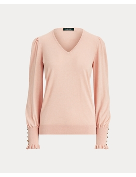 Flared Cuff Sweater by Ralph Lauren