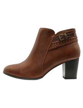 Annaleigh Multi Plait Detail Boot by New