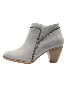 Appeal Side Zip Detail Boot by New