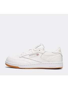 Junior Club C85 Trainer | White / Gum by Reebok