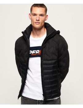 Radar Mix Quilt Fuji Jacket by Superdry