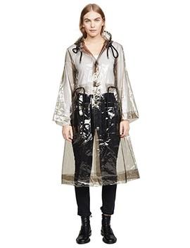 Hooded Pvc Raincoat by Proenza Schouler Pswl