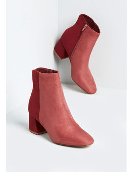 Go On Colorblocked Ankle Boot by Modcloth