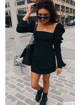 Lorna Luxe Black 'lucky' Mini Dress by In The Style