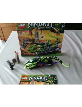 Lego Ninjago 9447   Lasha's Bite Cycle   100% Complete, In Box by Ebay Seller