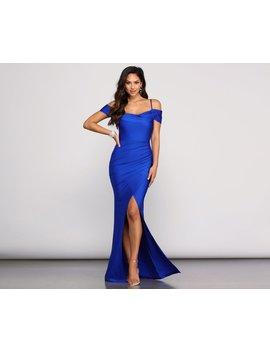 Leilani Formal High Slit Dress by Windsor