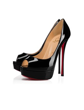 Fetish Peep 150 Patent by Christian Louboutin