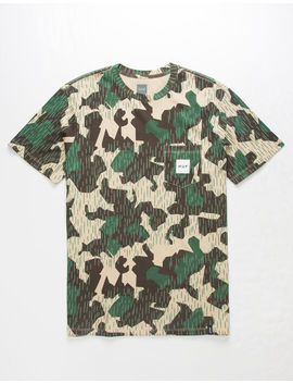 Huf Splinter Camo Pocket Mens T Shirt by Huf