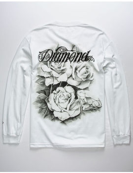 Diamond Supply Co. Giant Script Blossom White Mens T Shirt by Tilly's