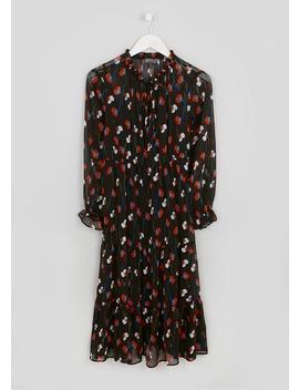 Papaya Petite Poppy Print Midi Shirt Dress by Matalan