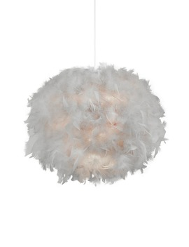 Poppy Feathered Shade (35cm X 27cm) by Matalan