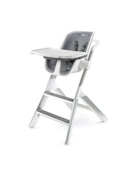 4moms High Chair With Magnetic Tray, White/Grey by 4moms