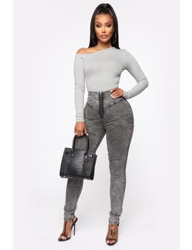 Not Even A Reply Skinny Jeans   Black by Fashion Nova