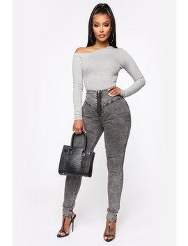 Not Even A Reply Skinny Jeans   Black by Fashion Nova