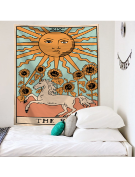 Indian Tapestry Tarot Wall Hanging Mandala Hippie Gypsy Throw Bohemian Cover Uk by Ebay Seller
