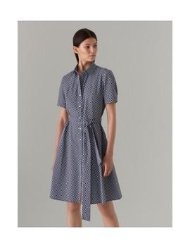 Pamučna Haljina S Pojasom by Mohito