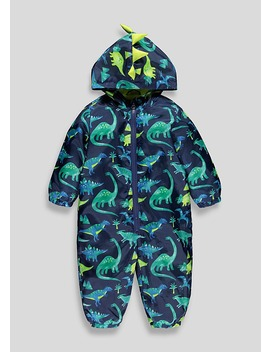 Kids Dinosaur Puddle Suit (9mths 6yrs) by Matalan