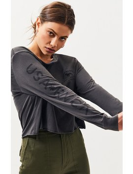 Rvca Wicks Long Sleeve T Shirt by Pacsun