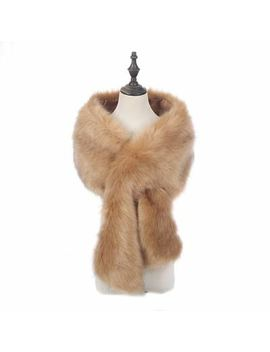 <Span><Span>New Ladies Winter Faux Fur Scarf Neck Warmer Wrap Extra Large Collar Shawl Stole</Span></Span> by Ebay Seller
