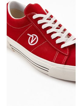 Vans Red Anaheim Factory Sid Dx Shoes by Pacsun