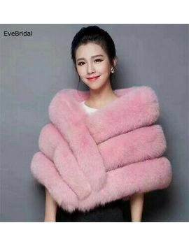 <Span><Span>Faux Fur Wedding Bridal Shawl Winter Wrap Prom Shrug Bolero Cape Jacket Coats</Span></Span> by Ebay Seller