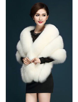 <Span><Span>Uk Bridal Wedding Faux Mink Fur Shawl Wrap Shrug Warm Coat Dress Stole Cocktail</Span></Span> by Ebay Seller