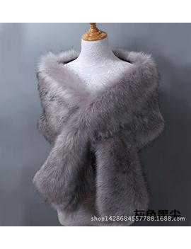 <Span><Span>Elegant Faux Fur Shawl Stole Wrap Shrug Women Evening Coat Wedding Dress Scarves</Span></Span> by Ebay Seller