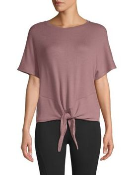 Knot Front Top by Marc New York Performance