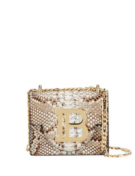 B Python Shoulder Bag by Balmain