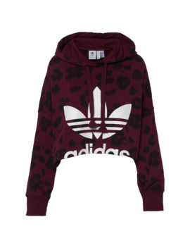 Adidas Originals Bellista Cropped Hoodie by Adidas Originals