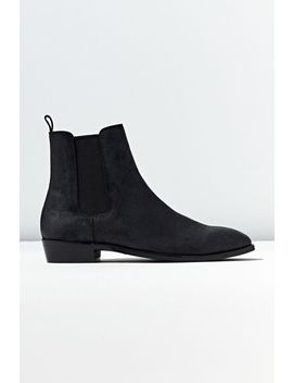 Uo Oiled Chelsea Boot by Urban Outfitters