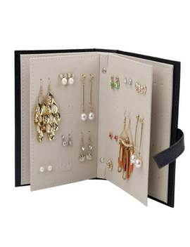 Earring Jewelry Box Storage Organizer Case Earring Holder Book by Etsy