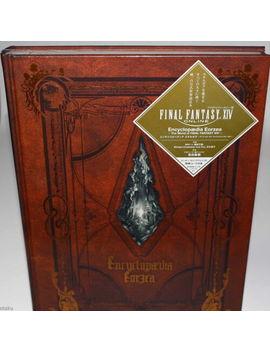 Encyclopaedia Eorzea World Of Final Fantasy Xiv Japan Game Guide Art Book New by Ebay Seller