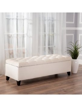 Oliver New Velvet Storage Indoor Bench by Best Selling Home