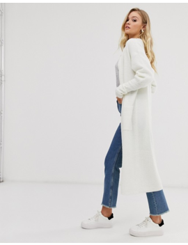 Micha Lounge Luxe Oversized Cardigan With Rib Knit Cuffs by Micha Lounge