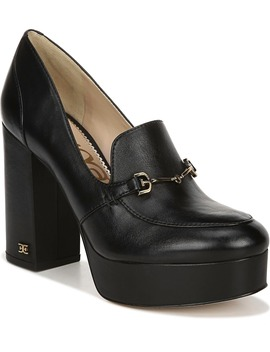 Aretha Platform Loafer Pump by Sam Edelman