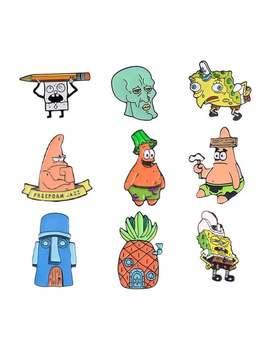 Sponge Bob Squarepants | Enamel Pins by Etsy