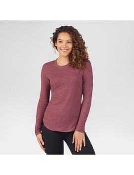 Warm Essentials® By Cuddl Duds® Women's Every Day Comfort Thermal Long Sleeve Crew Top by Warm Essentials By Cuddl Duds