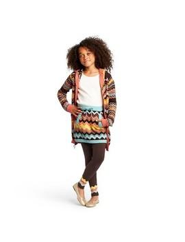 Girls' Colore Zig Zag Mid Rise Sweater Mini Skirt   Missoni For Target by Rise Sweater Mini Skirt