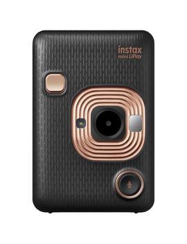 Fujifilm Instax Mini Li Play Instant Camera (Elegant Black) by Jb Hi Fi