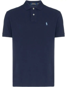 Logo Embroidered Polo Shirt by Polo Ralph Lauren