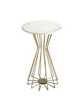 Marble &Amp; Metal End Table by Pier1 Imports