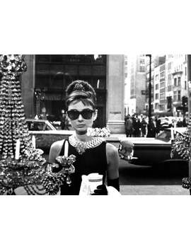 Audrey Hepburn Breakfast At Tiffany's Hollywood Poster Art Photo Artwork 11x14 Or 16x20 by Etsy