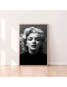 Marilyn Monroe Celebrity Poster,Canvas Art,Bedroom Art,Wall Art,No Frame by Etsy