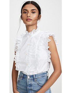 Shell Embroidered Top by La Vie Rebecca Taylor