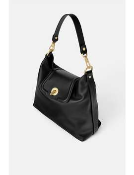 Leather Bucket Bag  Leather Bags Woman by Zara